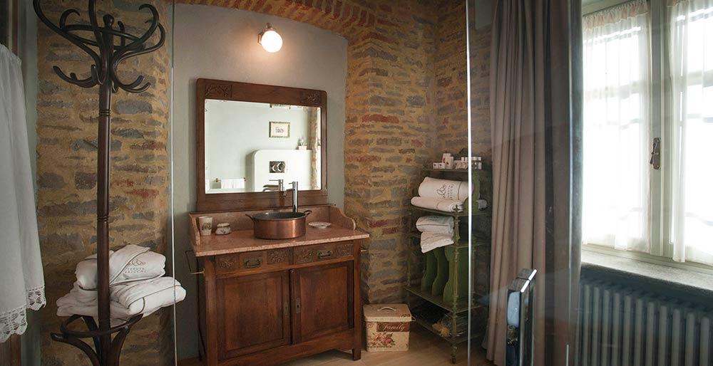 Bagno della camera Giardino