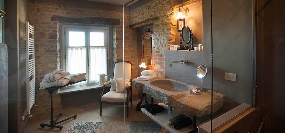 Bagno della camera Infinito